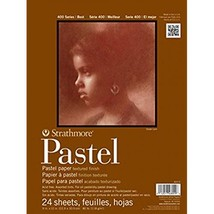 "Strathmore 403-9 400 Series Pastel Pad, Assorted Colors, 9""x12"" Glue B - $19.95"