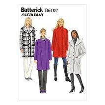 Butterick Patterns B6107 Misses' Coat, Size Y - $14.70