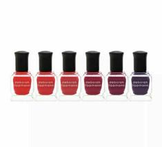 Deborah Lippmann Limited Edition Very Berry 6 Piece Nail Polish Set - Ne... - $20.85