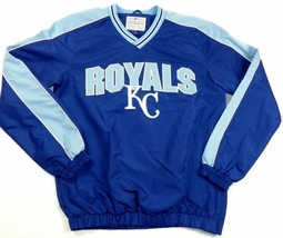 Kansas City Royals Jacket Men's Switch MLB Baseball Lightweight Pullover G-III