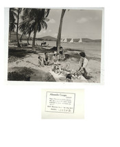 1960'S NOTED PHOTOGRAPHER ALEXANDRE GEORGES-BEACH PARTY PUERTO RICO-MERC... - $24.00