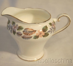 April Rose Creamer, Made in England by Aynsley, Gold Gilt Trims, Bone China - $19.95