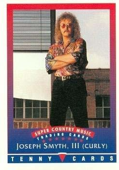 Primary image for Joseph Smyth, III (Curly) trading Card (Super Country Music) 1992 Tenny