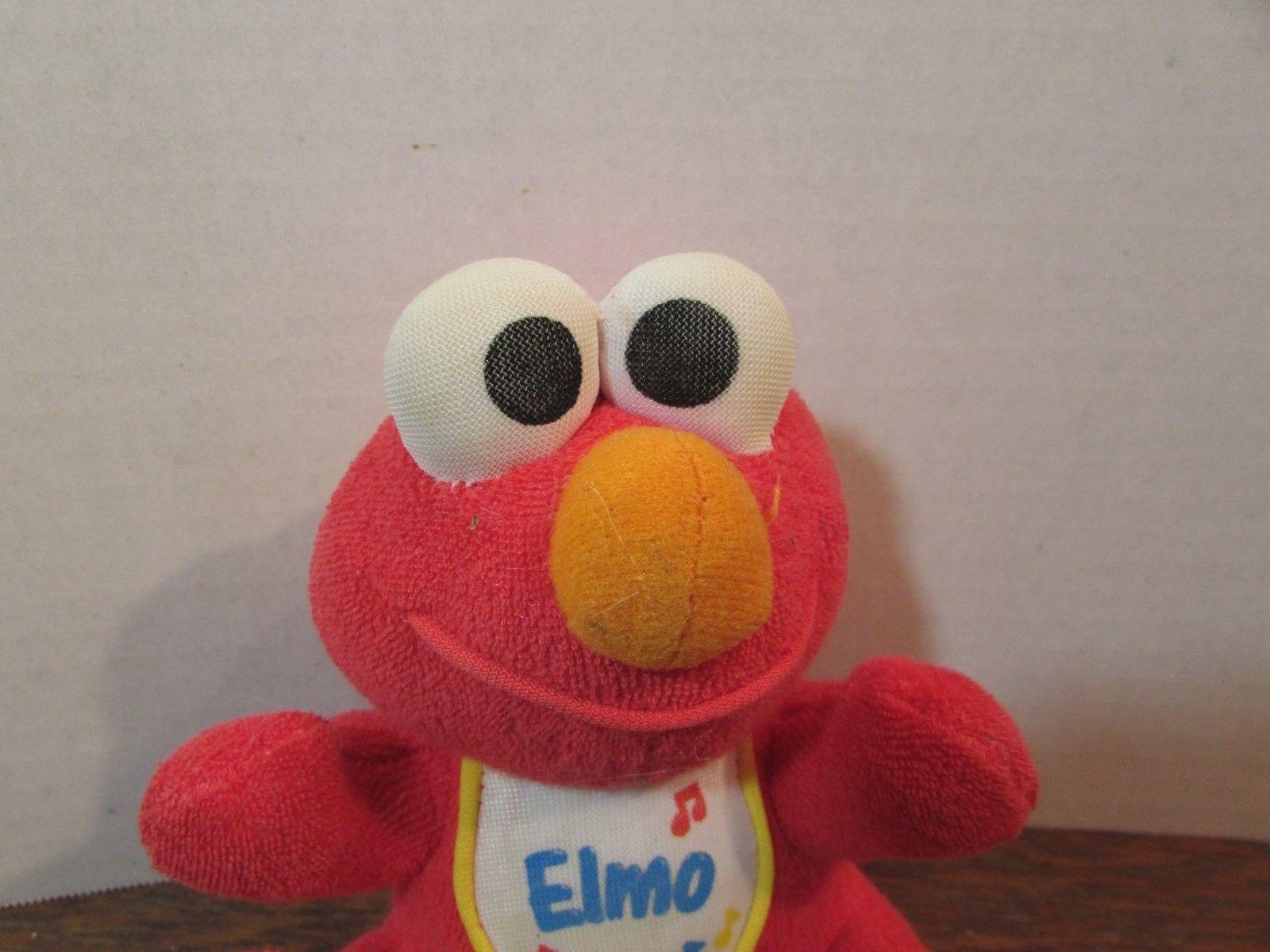 396b3f24c0d Tyco Sesame Street BABY Elmo W BIB Plush and 42 similar items