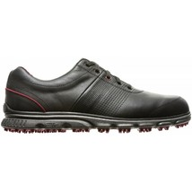 NEW! FootJoy Men's DryJoys Casual Golf Shoes - 53577 Black/Red - 9 Medium - $148.38