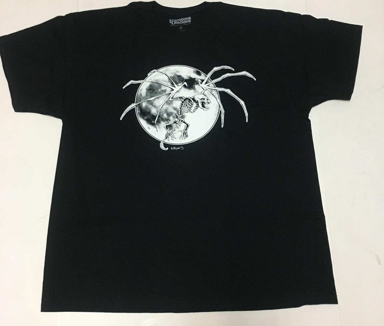 Dungeons & Dragons Black T-Shirt Various Sizes Free Shipping