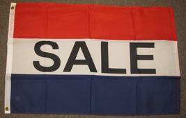 SALE FLAG 2X3 FEET YARD RUMMAGE GARAGE FOR SALE  2'X3' F691 - $5.89