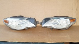 09-12 VW Volkswagen CC Halogen Headlight Head Lights Matching Set L&R image 1