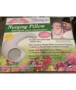 NuAngel Trinity II Nursing Pillow with Pillowcase, Gray - $21.34