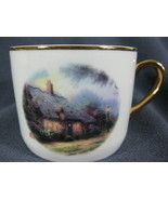 Thomas Kinkade Moonlight Cottage Coffee Cup Mug Teleflora 10oz - $11.95