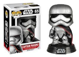 Star Wars The Force Awakens Captain Phasma Vinyl POP Figure Toy #65 FUNKO NEW - $8.79