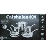 New Calphalon AccuCore Stainless Steel 10 Piece Cookware Set - $5.654,71 MXN
