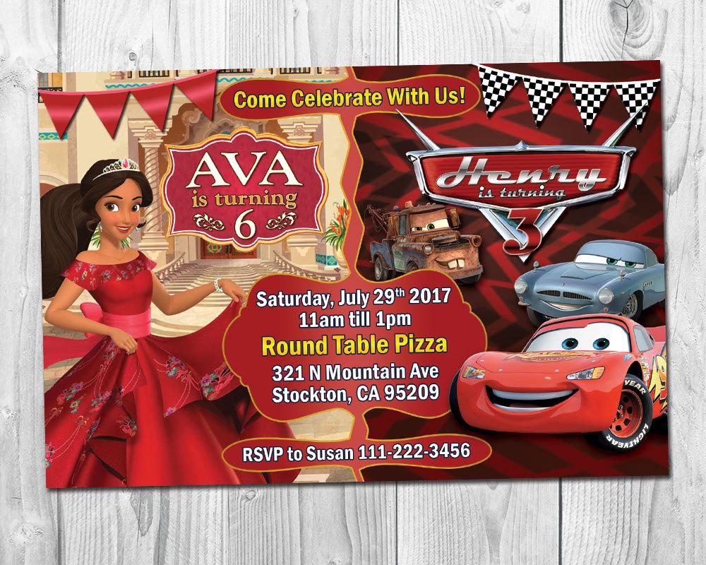 Elena of Avalor & Cars Birthday Party and similar items