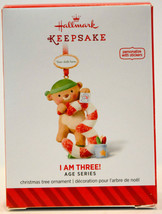 Hallmark - I Am Three! Age Series - Personalize With Stickers Keepsake Ornament - $6.94
