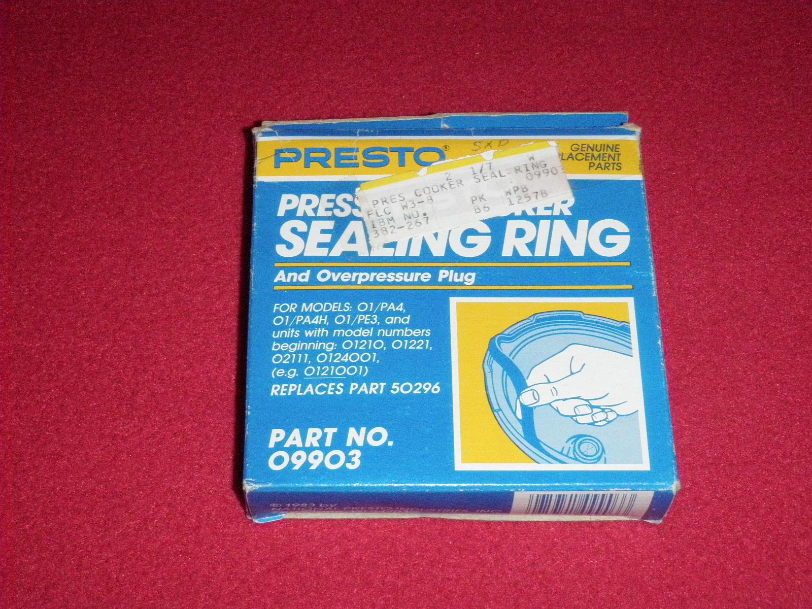 Presto Pressure Cooker Sealing Ring and similar items