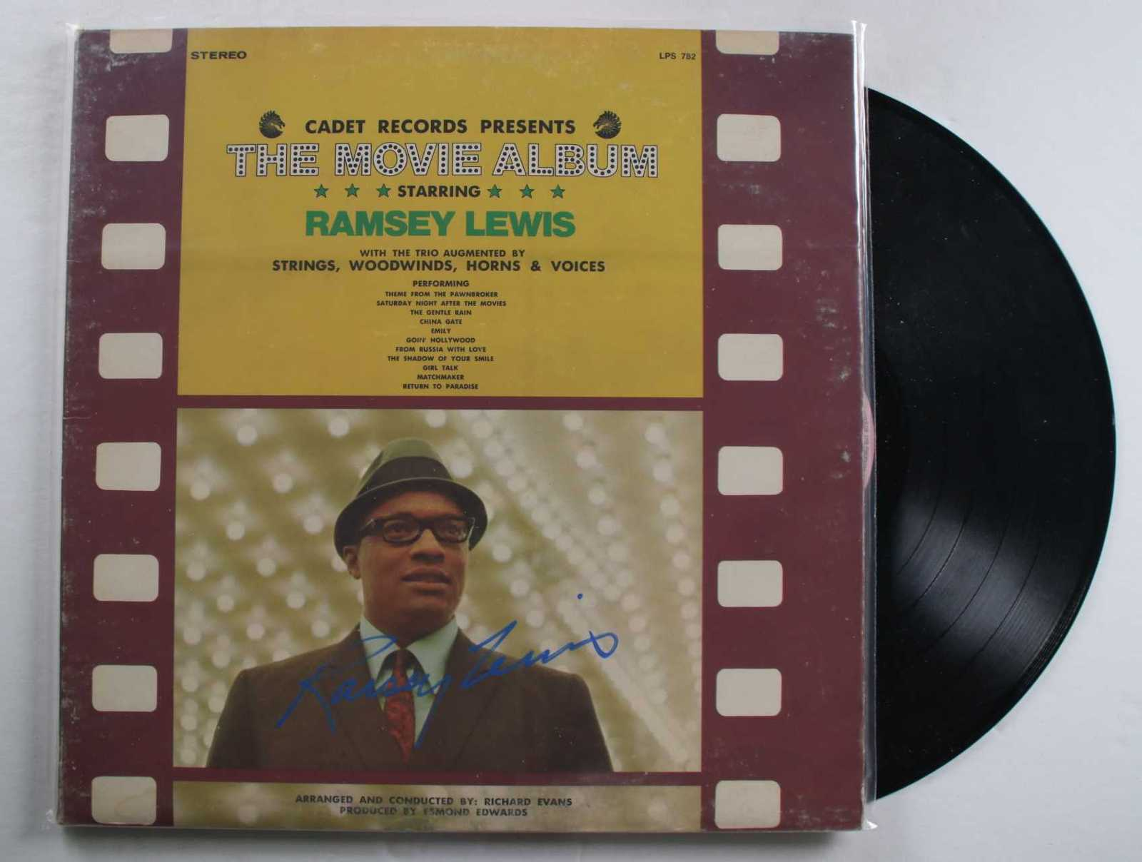 "Primary image for Ramsey Lewis Signed Autographed ""The Movie Album"" Record Album"
