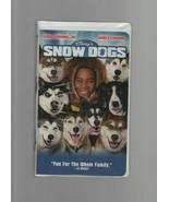 Snow Dogs - Walt Disney - Cuba Gooding Jr., James Coburn - VHS 26507 - PG. - $1.18