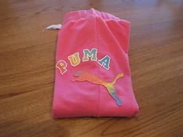 Puma Filles Actif Capri Pantalon M M Jeunesse Carmin PGS17353 Nwt ^^ - $10.70