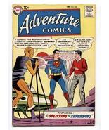 ADVENTURE COMICS #255 comic book 1958-SUPERBOY-1st Red Kryptonite - $303.13