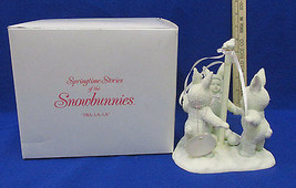 Snowbunnies Dept Department 56 Figurine #26069 Tra La La Bunny Springtim... - $14.10