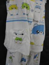 Elton John Aids Foundation Pajamas Small Cute Baby doll Two Piece image 6