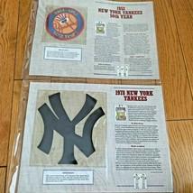 NEW YORK YANKEES 1952 1978 Baseball Uniform Patch Willabee Ward Cooperstown - $29.95