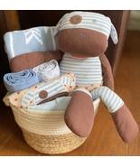 Boxer Dog Baby Gift Basket - $69.00