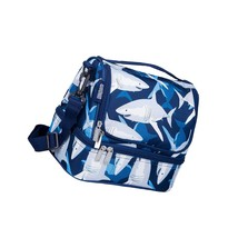 Kids Two Compartment Lunch Bag For Boys And Girls, Size For Packing Hot ... - $54.99