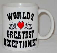 World's Greatest Receptionist Mug Can Personalise Great Office Assistant... - $9.23