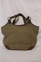 THE SAK Brown Crochet /Knit Square Shoulder Purse W/Silver Tone Keychain... - $35.00