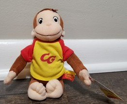"curious george marvel plush 2005 7"" - $9.49"