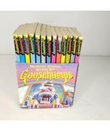 Vintage 90s RL Stine Goosebumps Haunted School Boxed Set 13 Books Schola... - $68.57