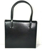 Block True Vintage Small Black Faux Leather Handbag - $29.09
