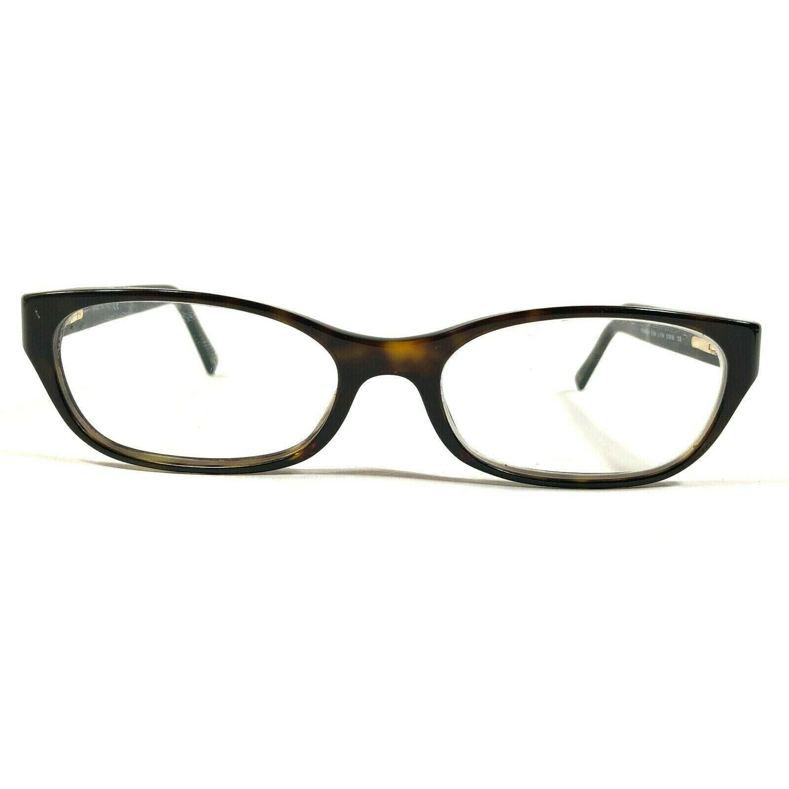 Chanel Womens Oval Brown Tortoise Chain Logo Eyeglasses Frames 3139 c.714 135 - $140.25