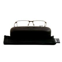 Oakley Barspin Eyeglasses OY3001 03 Matte Cement 49 15 130 Metal Demo Lens - $79.80