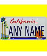 License plate, golf cart, mobility scooter - California design, custom, ... - $12.99