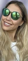 New Ray-Ban Green Round Mirrored 50mm Unisex Sunglasses  - $149.99