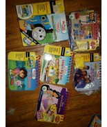 (6) Leap Frog MY FIRST LEAPPAD Game Lot Thomas/Dora/Wiggles/Bob Builder/... - $18.66