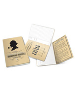 Sherlock Holmes Detective Agency Pocket NoteBook with Art Images NEW UNUSED - $6.85