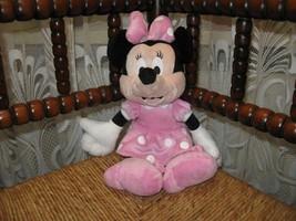 Disney Nicotoy Belgium Minnie Mouse Doll Plush 3311 Baby Safe CUTE - $34.41
