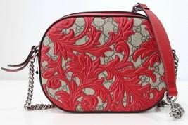 NEW/AUTHENTIC GUCCI 409535 Arabesque Gg Supreme Small Crossbody Bag, Mul... - $1,341.00