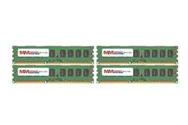 MemoryMasters 16GB (4x4GB) DDR3-1600MHz PC3-12800 ECC UDIMM 1Rx8 1.35V Unbuffere - $108.75