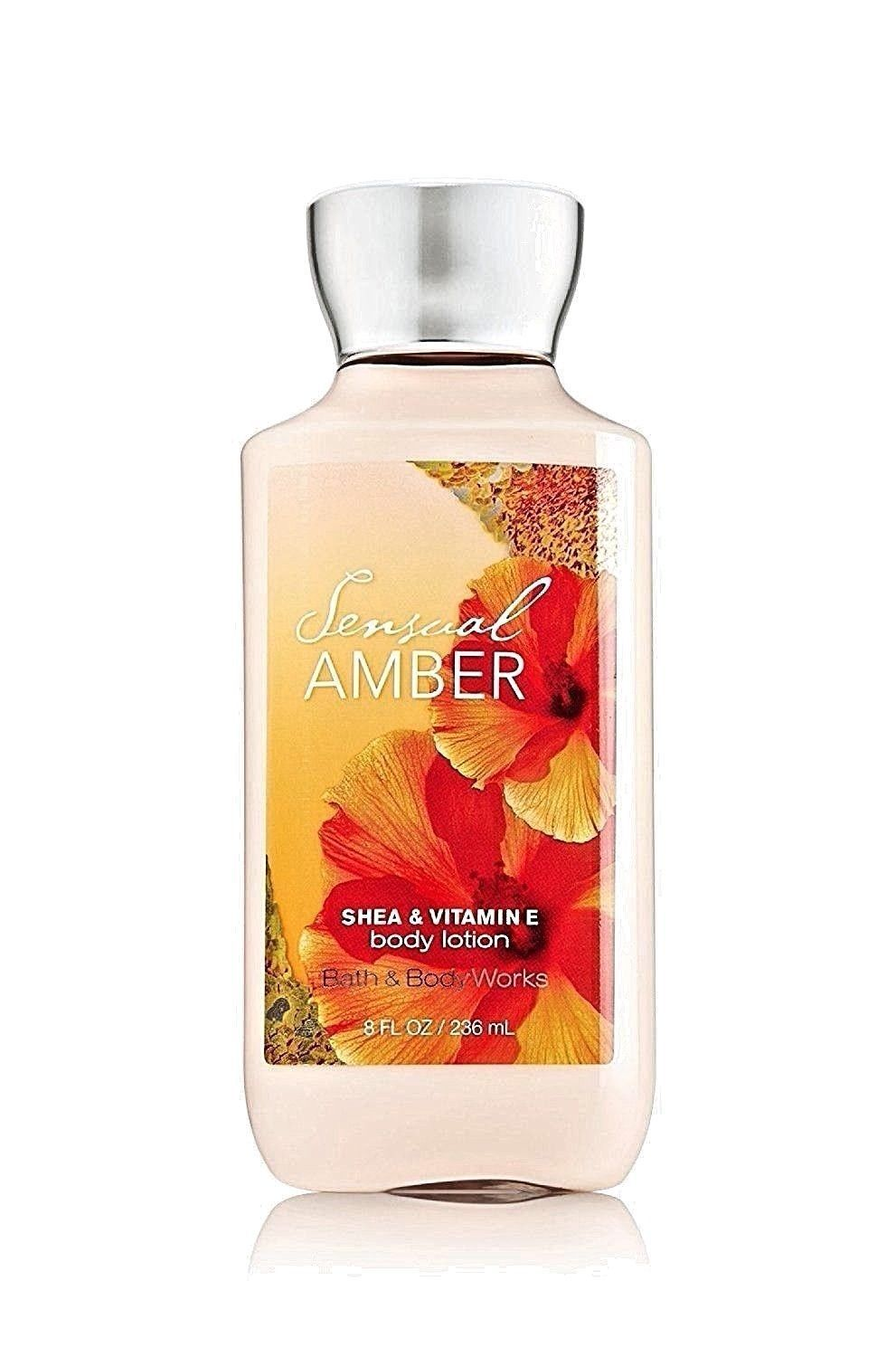 Primary image for Sensual Amber Body Lotion 8 oz 236 ml By Bath & Body Works