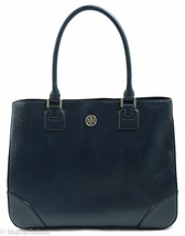 NWT Tory Burch Robinson East/West Tote Handbag Bag, Blue - $415.65