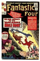 Fantastic Four #31 Comic Book 1964-MOLE MAN-AVENGERS Fn - $90.79