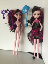 2 Mattel Welcome To Monster High Draculaura~Photo Booth doll OOAK  Kk - $34.74