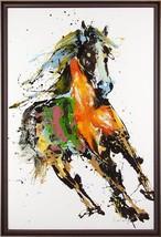 Painting JOHN-RICHARD Leiming's Running in the Wind Horse - $68.422,96 MXN