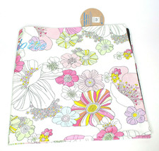 """Pottery Barn Teen Floral Lounge Pillow Cover Cutter Fabric 36"""" (Monogrammed) NWT - $19.94"""