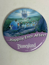 Disneyland Happily ever after.. Pin Cinderella carriage Riding To Disney Castle - $5.25