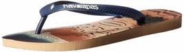 Havaianas Men's Flip-Flop Sandals, Hype,Rose Gold,39/40 BR (8 M US) - $15.99